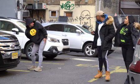 Joven, yoga, hombres, engaña, confunde, video, viral