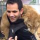 León, animal salvaje, actualidad, video, susto, Black Jaguar While Tiger, viral