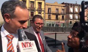 Hugo López-Gatell, hombre, indigente, calle, limosna, peso, video, viral, coronavirus