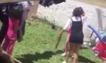 maltrato infantil, menor de edad, abuso a menores, violencia, Veracruz, nacional, video, lo viral