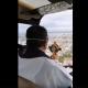 sacerdote, religión, coronavirus, lo viral, pandemia, helicóptero, Chile