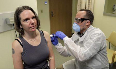 Vacuna, coronavirus, paciente, experimental, medicina, virus, inyección