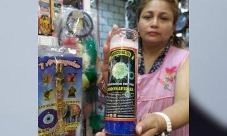 veladora, coronavirus, protección, covid-19, Villahermosa, Tabasco, actualidad