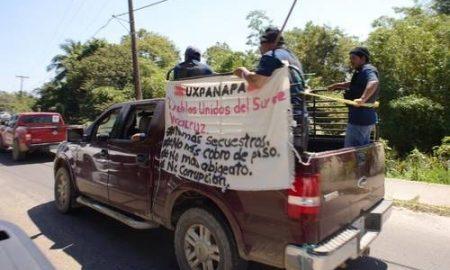 Veracruz, Oaxaca, delincuencia organizada, narcotráfico, policías comunitarios, carvana