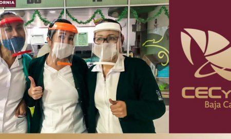 CECyTE BC, caretas, Sector Salud,