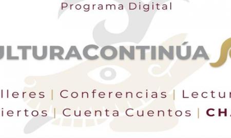 Secretaría de Cultura, programación, Digital,
