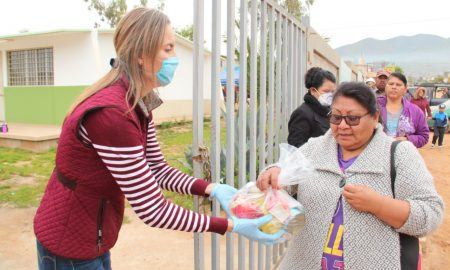 Secretaría de Educación en Baja California, Despensas, Covid-19,