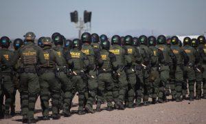 EEUU, soldados, frontera, México, el bordo, DHS