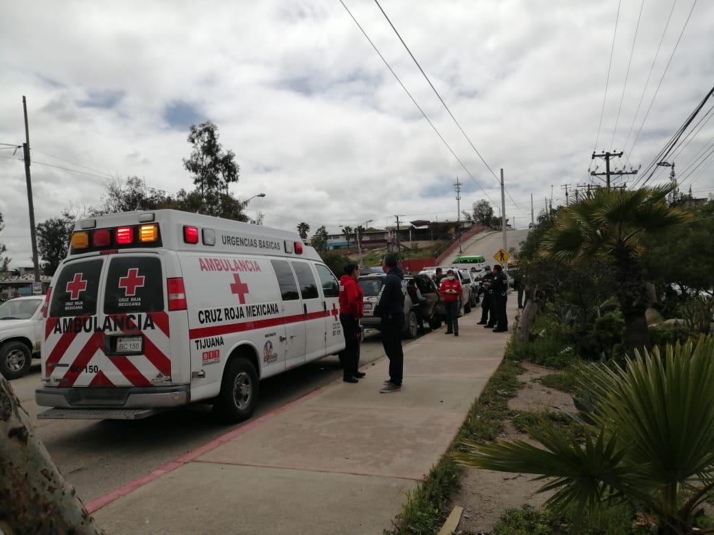 paramédicos, cruz roja, ambulancia, accidente, colonia reforma