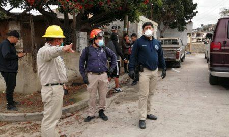 evacuación, derrumbe, viviendas, Sánchez Taboada, Protección civil