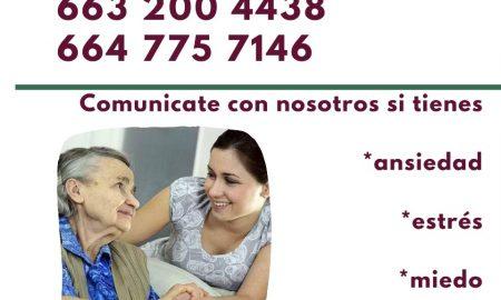 Secretaría de Salud del Estado, atención psicológica, Covid-19,