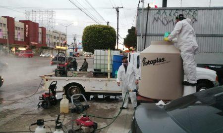 desinfección, autos, bulevar, Tijuana, covid-19, contingencia