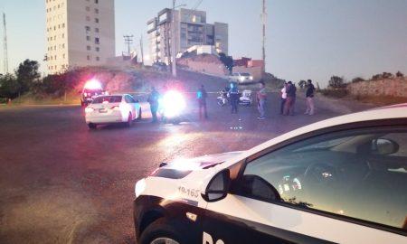 policía municipal, cumbres, cruz roja, pareja, heridos, arma
