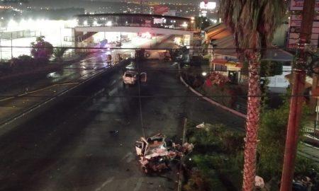accidente, tráiler, 5 y 10, bomberos, policía, lesionado