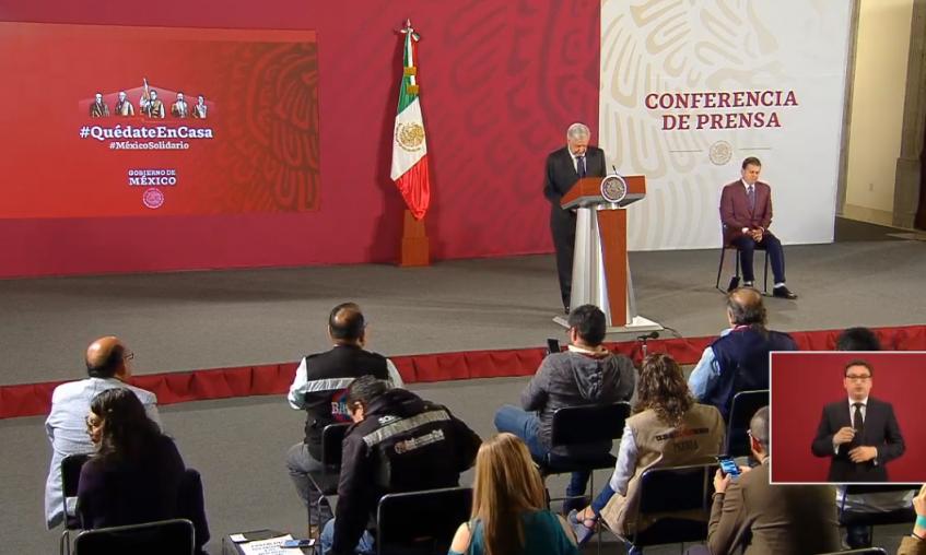 AMLO, conferencia matutina, México, nacional, López Obrador, coronavirus, pandemia, economía