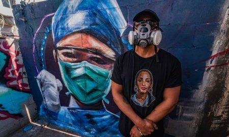 artista visual, murales, Mexicali, salud, coronavirus, pandemia, arte