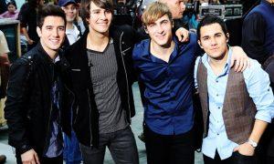 Big Time Rush, boy band, música, transmisión en vivo, Logan Henderson