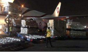 cargamento, pruebas,, China, México