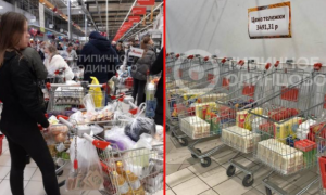 Rusia, compras pánico, coronavirus, pandemia, covid-19, lo viral