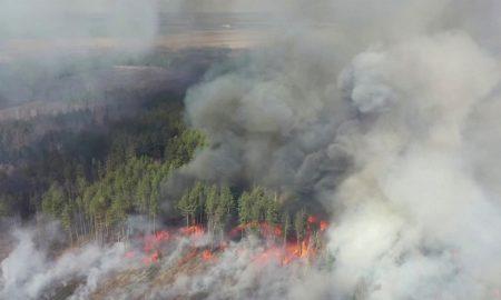incendio forestal, Chernobyl, Rusia, Moscú, internacional, siniestro