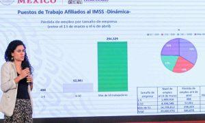 STPS, Luisa María Alcalde, empleos, crisis, salud, pandemia, economía