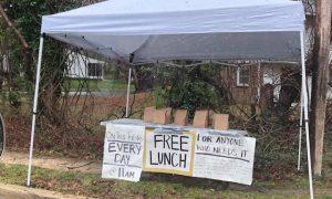 Lunch, comida, gratis, comunidad, Estados Unidos, viral