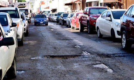 López Obrador, AMLO, calles, Hermosillo, Sonora, baches