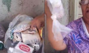actualidad, video, mujer, jabón Zote, despensa, apoyo, coronavirus, pandemia