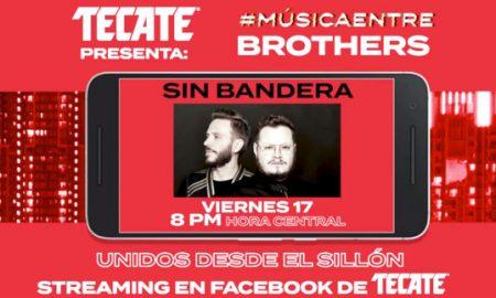 música, música entre brothers, Facebook, Tecate, streaming, Leonel García, Little Jesus