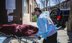 Nueva York, EEUU, crisis, salud, coronavirus, covid-19, víctimas, cuerpos