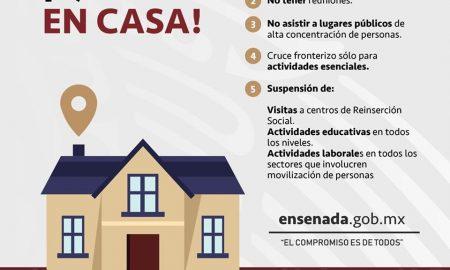 Grafica, Ayuntamiento, Ensenada, coronavirus