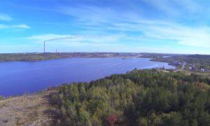 Sudbury, Canadá, contaminación, limpieza, paisaje, naturaleza,