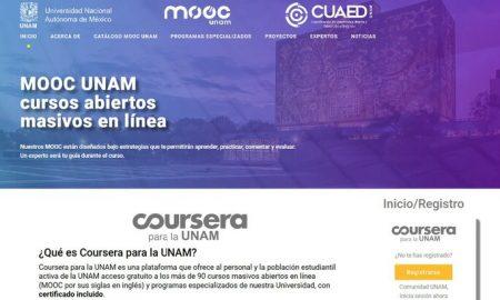 UNAM, cursos, gratis, educación, nacional, cultura, Coursera