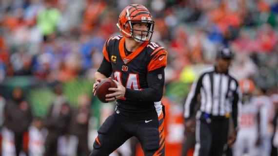Bengals ponen fin a la era de Andy Dalton en Cincinnati