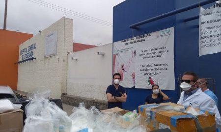 Baja Health Cluster, donativos, equipo médico