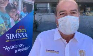 Donación alcalde, Tijuana, emergencia sanitaria