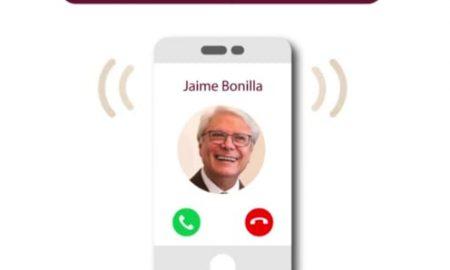 llamadas, gobierno, Jaime Bonilla, covid-19