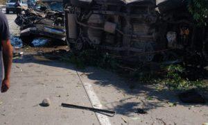 choque, carretera Tijuana- Rosarito, lesionados