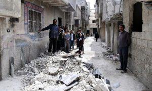 ataques aéreos, Siria, Irán, guerra, heridos, víctimas, armas, violencia