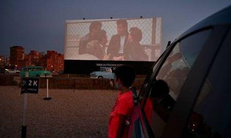 Brasil, España, autocinema, diversión, cine, películas, contingencia, pandemia