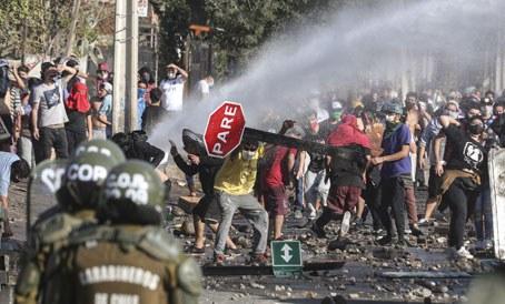 hambruna, protesta, manifestación, pobreza extrema, desigualdad, Valparaíso