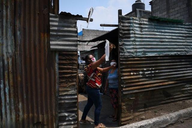 San Salvador, Guatemala, pobreza, precariedad, desempleo, hambruna, pandemia, cuarentena