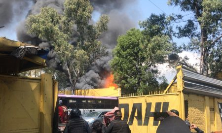 incendio, incidente, Coyoacán, autoridades, CDMX, SGIRPC