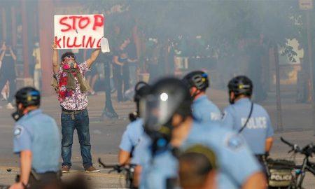 Minneapolis, policía, protestas, supremacismo blanco, represión, Minnesota, EEUU, George Floyd