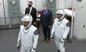 NASA, SpaceX, Falcon 9, cohete, astronautas, viaje, despegue, Texas, EEUU