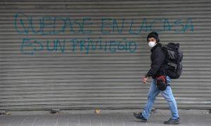 Chile, hibernar, Covid-19, coronavirus, pandemia, represión, militarización, salud