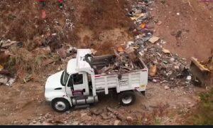 limpieza, basura, clandestino, San Antonio de los Buenos