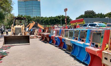FGE, máquinas tragamonedas, Baja California