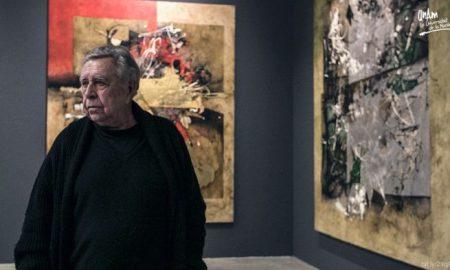 Manuel Felguérez, mexicano, artista, arte abstracto, México, covid-19, pandemia