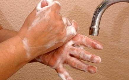 lavado de manos, Covid-19, Secretaría de Salud de Baja California,